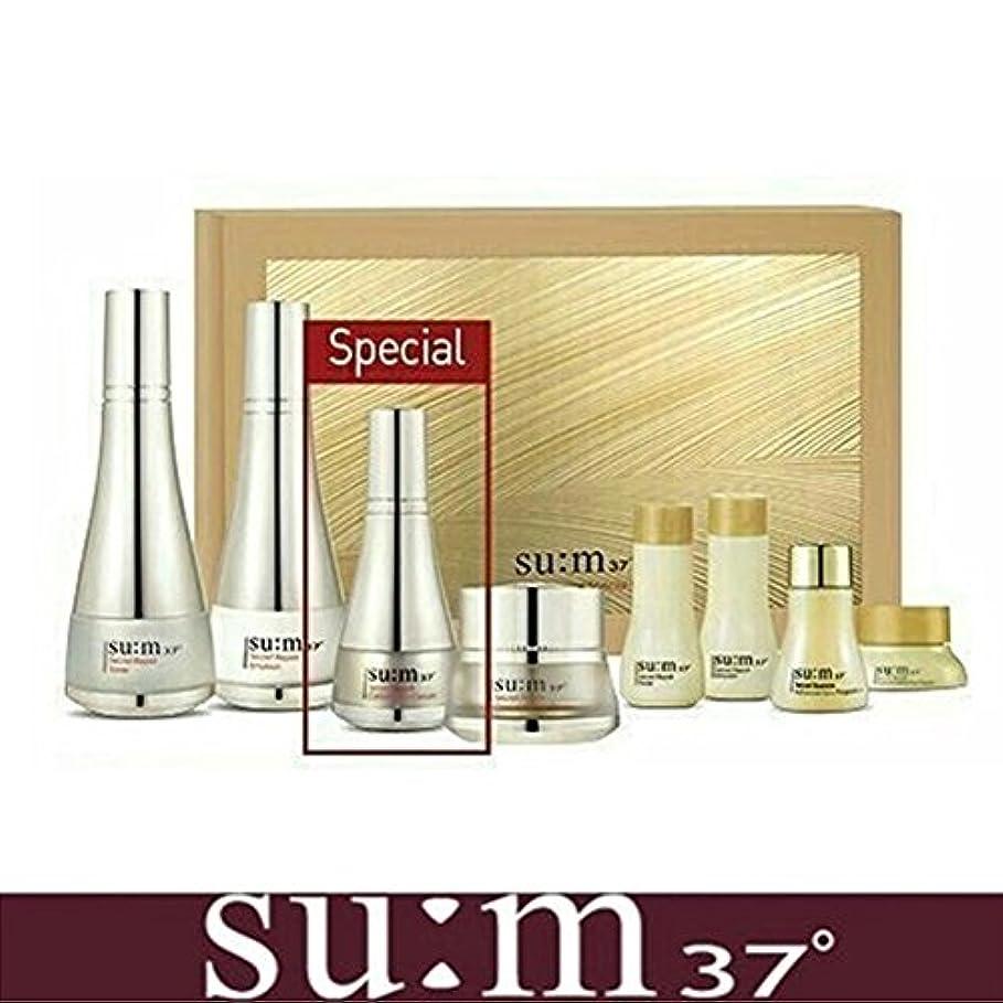 時制レオナルドダ切断する[su:m37/スム37°] SUM37 Secret Repair 3pcs Special Skincare Set / シークレットリペア3種セット+[Sample Gift](海外直送品)