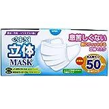 トプラン らくらく立体マスク 大人用サイズ 50枚入