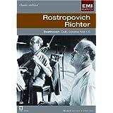 Rostropovich, Richter : Beethoven Cello Sonatas Nos. 1-5 (EMI Classic Archive) [DVD] [Import]