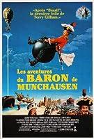 バロンミュンヒハウゼンの冒険–ロビンウィリアムズ–フランス輸入映画ウォールポスター印刷– 30CM X 43CM