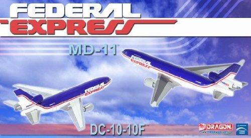 ドラゴンウィングス 1/400 DC-10 / MD-11F フェデラルエクスプレス 2機セット