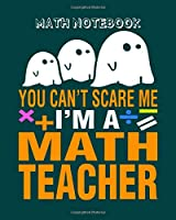 Math Notebook: math whisperer - 50 sheets, 100 pages - 8 x 10 inches