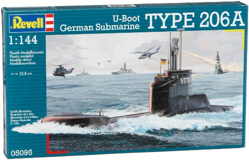 Revell 1/144 【05095】 TYPE 206A U-Boot Cerman Submarine