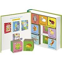 Animal World: 9 Mini Board Book Box Set (Clever Mini Board Books)