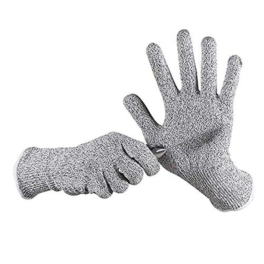 代数ペニー期待するカット性手袋、高性能レベル5の保護、食品グレード、安全キッチン作業や園芸用手袋をカット、1ペア