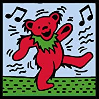Licences Products Grateful Dead Dancing Bear Sticker