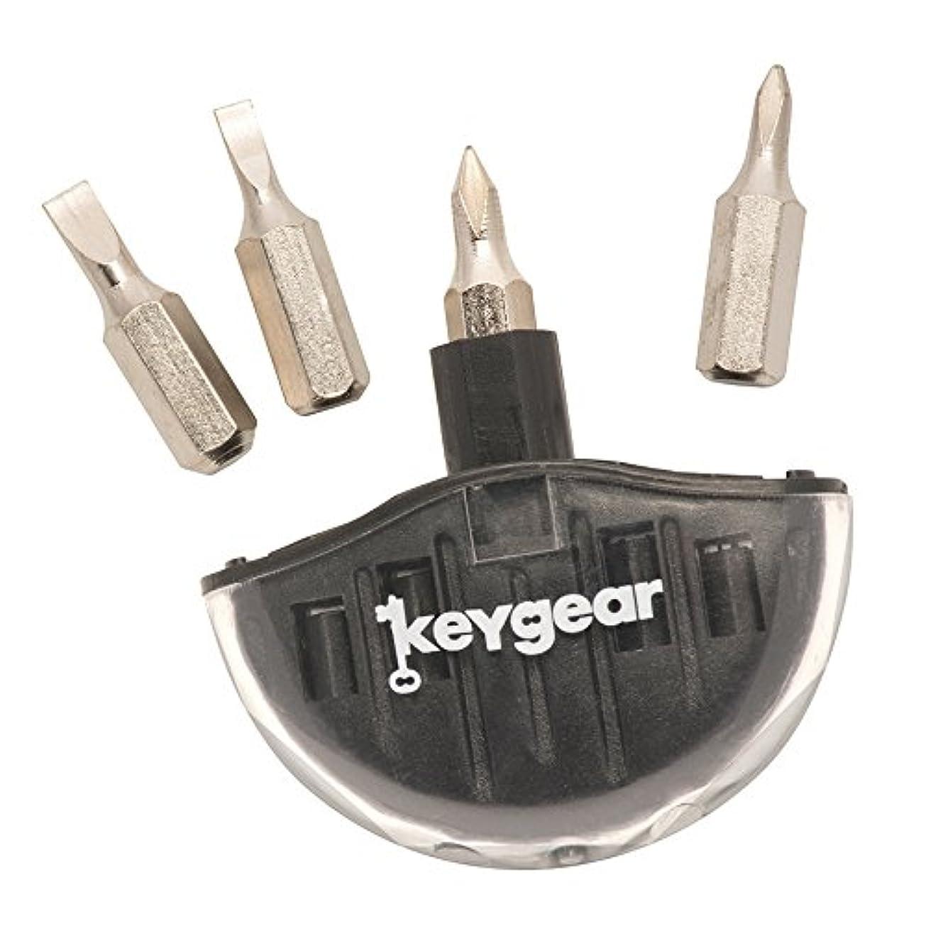 教死んでいる素晴らしさkey gear(キーギア) ドライバー スクリュードライバーセット2.0 ブラック KG02582