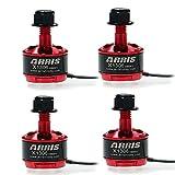 ARRIS X1306 3300KV ブラシレスモーターFPVミニドローン用 (2-4S Lipo対応) (4PCS)