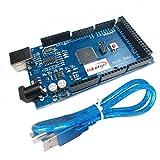 HiLetgo ATmega2560-16AU CH340G MEGA 2560 R3ボード USBケーブル付属 Arduino互換性 [並行輸入品]