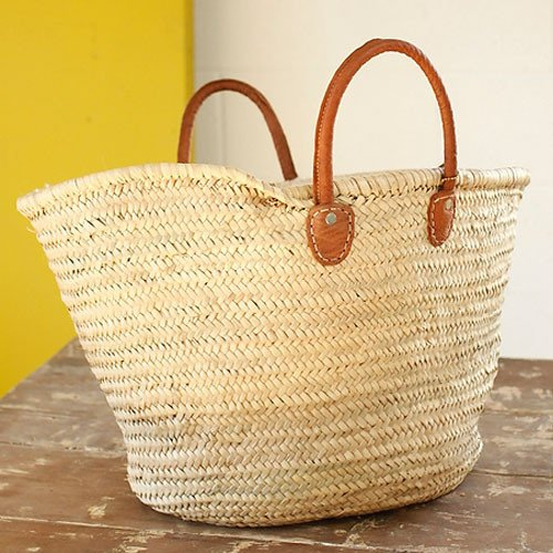Medina Mercantile Short Handled Market Basket