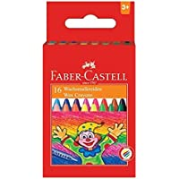 Faber Castell Wax Crayons - 16 Shades by Faber Castell