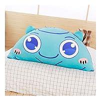 GLP ヘッドボードクッションソファラージバックソフトバッグ畳の姫ベッドピローリムーバブル洗えるかわいい枕、3色と4サイズ (Color : Green, Size : 150*70cm)