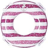 ヴィンテージボーダーウキワ(ピンク) 80センチ