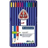 (まとめ買い) ステッドラー エルゴソフト色鉛筆 12色 157SB12 【×3】