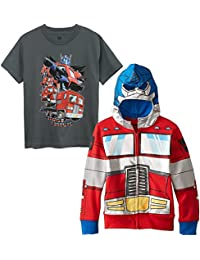Optimus Prime ボーイズ キャラクターパーカー