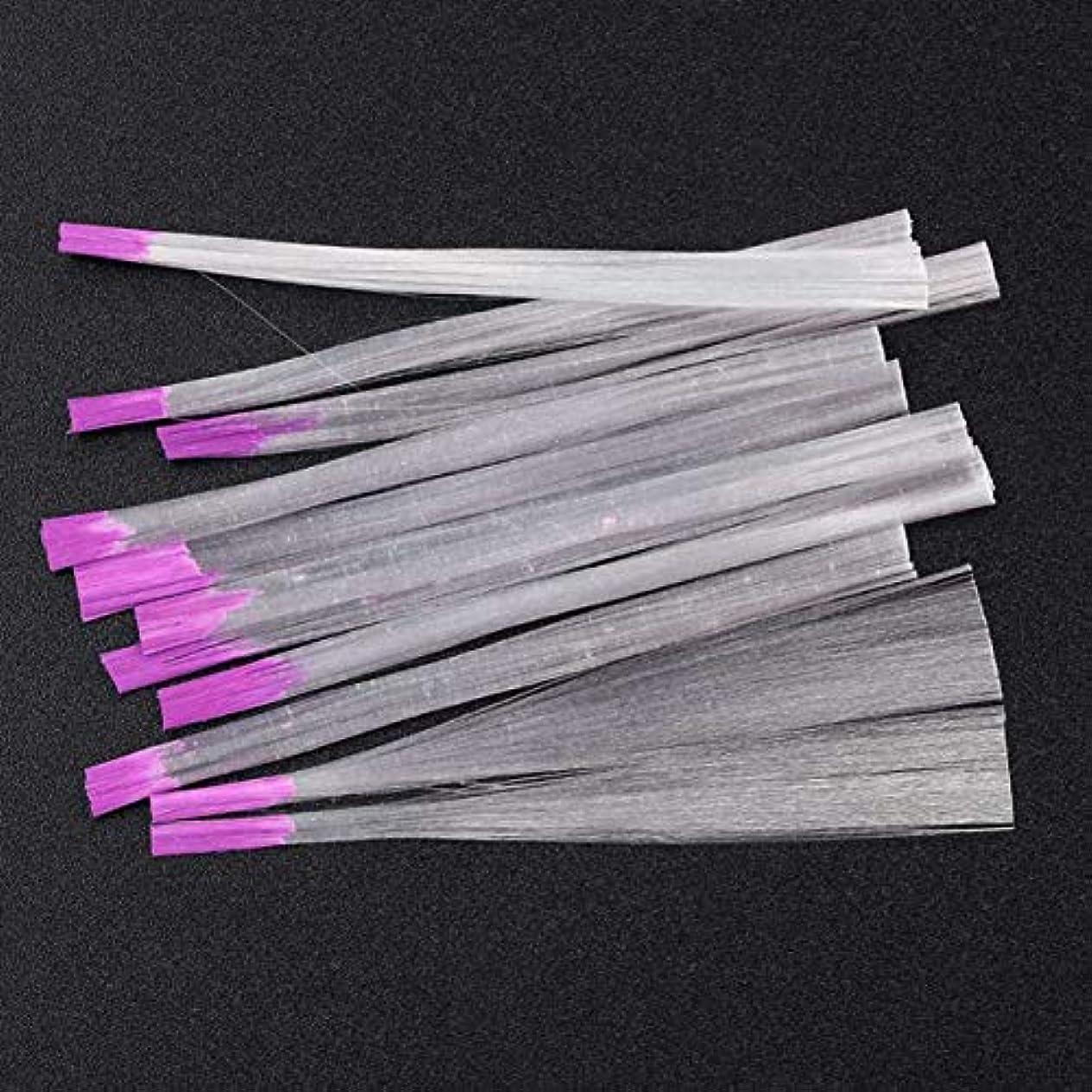 供給パイプダルセットYoshilimen 釘のための最新の透明な釘ファイバーグラス(None Picture Color)
