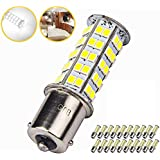 20 Pcs Extremely Super Bright 1156 1141 1003 BA15S 68-SMD LED Replacement Light Bulbs for RV Indoor Lights(20-Pack, Pure Whit