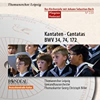 Cantatas for Pentecost: Liturgical Year With Bach by J.S. BACH (2012-06-26)