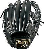 ZETT(ゼット) 少年野球 軟式 オールラウンド グラブ(グローブ) ネオステイタス (右投げ用) BJGB70610 ブラック S