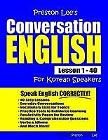 Preston Lee's Conversation English For Korean Speakers Lesson 1 - 40
