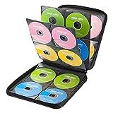 サンワサプライ DVD・CDセミハードケース(160枚収納・ブラック) FCD-WL160BK