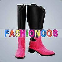 ★サイズ選択可★男性25CM UA1371 エクエストリアガールズ Sunset Shimmer サンセットシマー コスプレ靴 ブーツ