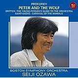 プロコフィエフ:ピーターと狼/サン=サーンス:動物の謝肉祭/ブリテン:青少年のための管弦楽入門(日本独自企画盤)