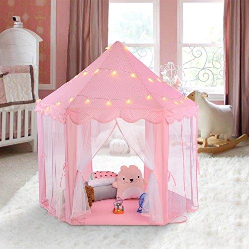 [해외]DBROSE 어린이 텐트 어린이 텐트 어린이 장난감 Kids Tent 여자 텐트 실내 실외 교육 완구 축소 장난감 수납 아이 방 놀이 오두막 생일 크리스마스 선물/DBROSE Kids Tent Kids Tent Kids Toys Kids Tent Girls Tents Indoors Outdoor educational t...