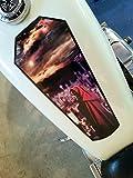 ハーレーダビッドソンDecals–2017Grim Reaper–Coffin–燃料タンク&フェンダーデカールfor Harley Davidson Sportsters & other motorcycles–6個セット