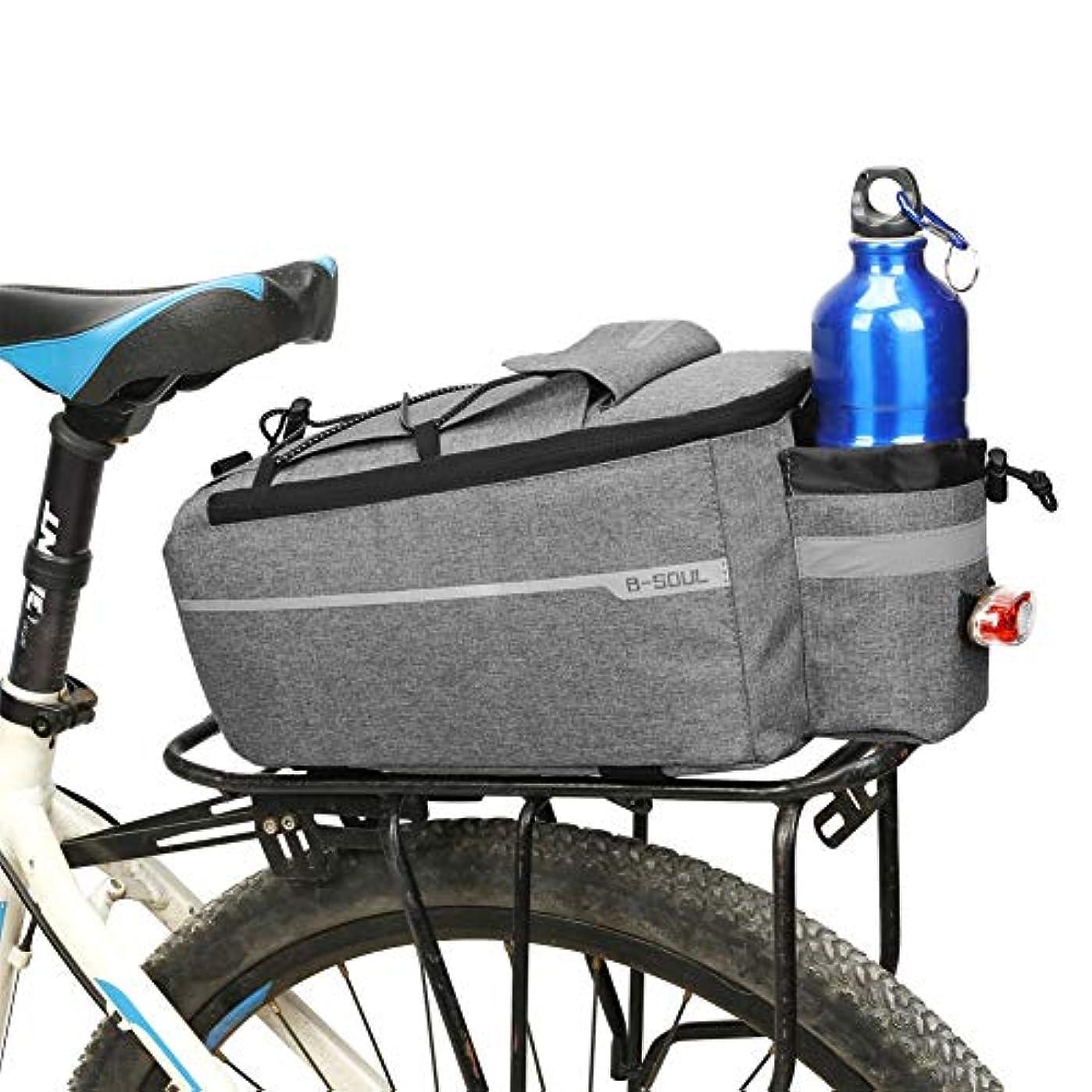 描く高音祝うOchine 自転車バッグ 保温トランククーラーパック サイクリング パニエ 自転車リアラック収納荷物ポーチ 反射型MTB自転車パニエショルダーバッグ