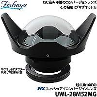 【フィッシュアイ】Fisheye FIXフィッシュアイコンバージョンレンズ UWL-28M52MG