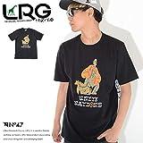 [アウトレット品] LRG エルアールジー Tシャツ 半袖 サファリマン&チーターイラスト UNITED NATIONS *(A171029) M BLACK 画像