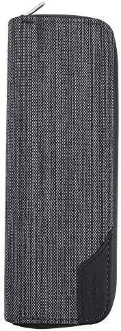 プルームテック ケースプルームテック プラス ケース 防水材質Ploom Tech Plus/PloomTECH + ケース 2本収納 全部収納 コンパクト 手帳型 カバー 財布型 (グレー)