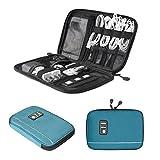(バッグスマート)BAGSMART ACアダプター PC周辺小物用収納ポーチ インナーバック ゴム・バンドが縫い付け プレゼント ギフト