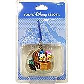 ドナルド デイジー フィギュア ストラップ センターオブジアース ミッキーマウス ミニーマウス ( 東京 ディズニーシー限定 )