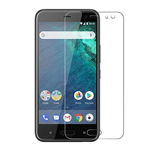 Gosento Android One X2 フィルム 【2枚セット】2.5Dラウンドエッジ加工 日本旭硝子素材AGC 高透過率 強化ガラスフィルム 硬度9H 対応