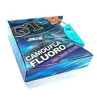 サンヨーナイロン フロロカーボンライン アプロード GT-R カモフラ フロロ 150m 20lb グレイッシュブルー
