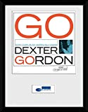 Blue Note Records Framedコレクターポスター–Dexter Gordon,ソニー・クラーク(16x 12inches)