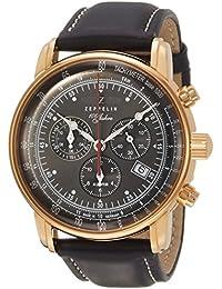 [ツェッペリン]ZEPPELIN 腕時計 100周年 グレー文字盤 86822 メンズ 【正規輸入品】