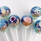 美しすぎて食べられない!3D 【 海の貝殻キャンディー】 3D sea shells lollipops [並行輸入品]