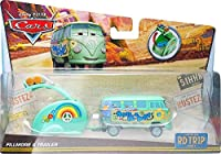 Disney / Pixar Cars RD TR1P Fillmore & Trailer Diecast Car [Road Trip] [並行輸入品]
