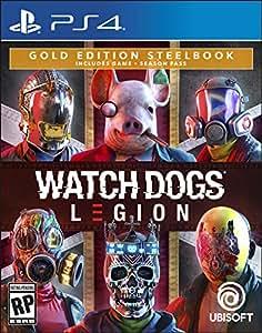 Watch Dogs Legion: Gold Steelbook Edition (輸入版:北米) - PS4