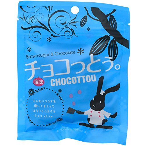 琉球黒糖 チョコっとぅ。塩味 40g×10袋