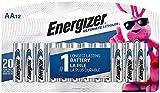 Energizer エナジャイザー リチウム乾電池 単3形 12本 [並行輸入品]