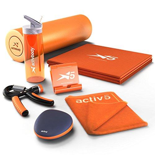 Activ5 ポータブル ストレッチ トレーニングデバイス&コーチングアプリケーション デラックス [並行輸入品]