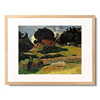ポール・ゴーギャン Eugène Henri Paul Gauguin 「Die Parkwarterin. 1889.」 額装アート作品