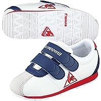 (ルコックスポルティフ) le coq sportif ベビーシューズ キッズシューズ MONTPELLIER モンペリエ 3 F スニーカー QEN6104 ベロクロ 子供靴 運動靴 男の子 女の子 QEN-6104