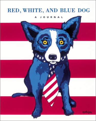 Download Red, White, and Blue Dog: A Journal 1584792132