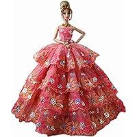 ドレスパーティースカート服人形様々なハイエンドの結婚式