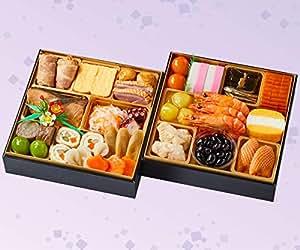 紀文 冷蔵 生詰め 生おせち 二段重「桜春」【12月30日お届け】